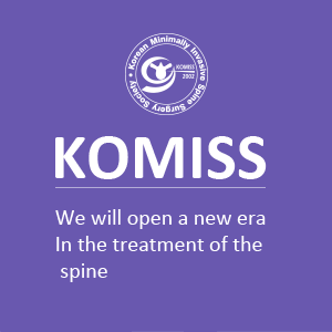 KOMISS : We will open a new era in the treatment of the spine